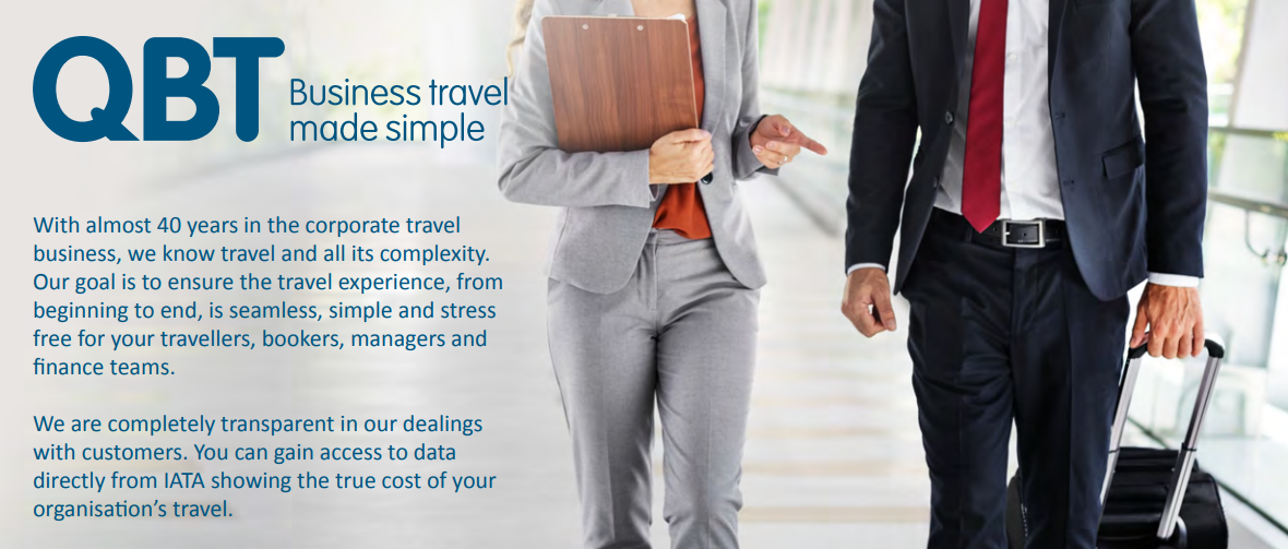 Find out about QBT Travel management